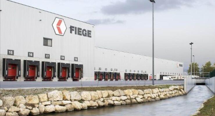 Das  Fiege Mega Center ist in Oftringen/Schweiz in Betrieb gegangen.