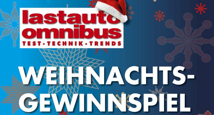 Das Weihnachtsgewinnspiel 2013 von FERNFAHRER und lastauto omnibus - mit freundlicher Unterstützung der nachfolgenden Partner