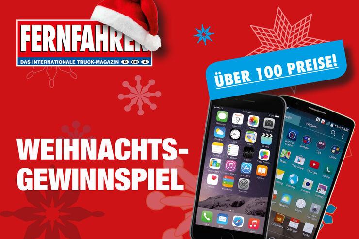 Das Weihnachtsgewinnspiel 2014 von FERNFAHRER und lastauto omnibus - mit freundlicher Unterstützung der nachfolgenden Partner