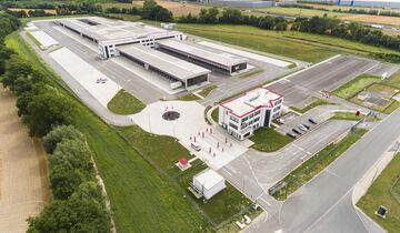 Der Paketdienstleister DPD nimmt am 7. September 2019 sein größtes jemals in Deutschland gebautes Depot in Betrieb.