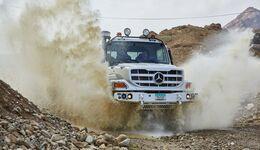 Der robuste Gelände-Lkw: Neuer Mercedes-Benz ZetrosThe robust off-road truck: the new Mercedes-Benz Zetros