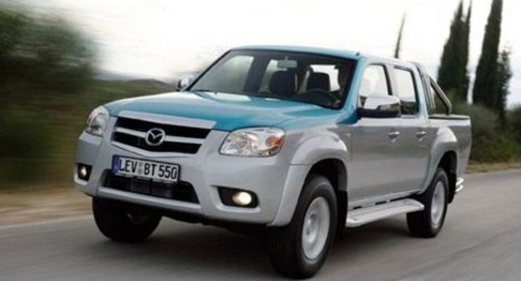 Der überarbeitete Mazda BT-50