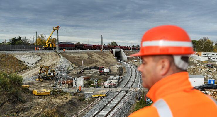 Deutsche Bahn, Gleis, Schiene