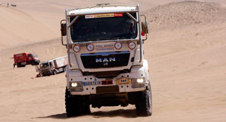 Die Dakar ist unterwegs