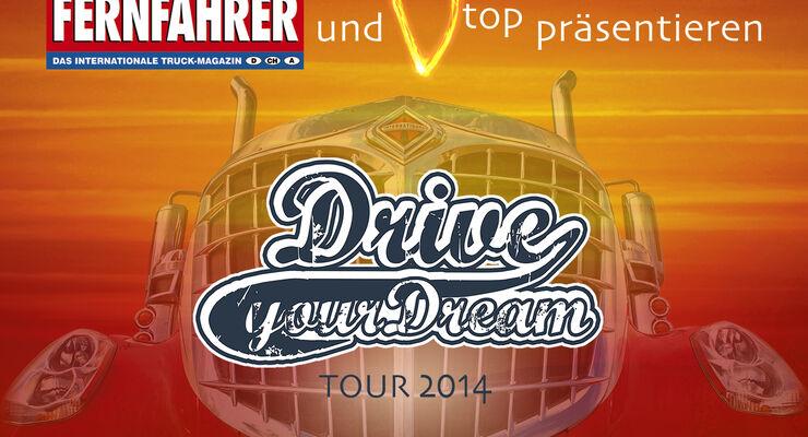 Die Drive your Dream Tour findet auch 2014 wieder statt.