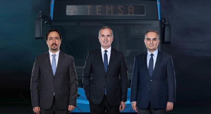 Die Sabanci Holding und Skoda Transportation übernehmen mittels zweier Tochtergesellschaften das Ruder beim türkischen Busbauer Temsa. Ziel der neuen Eigentümer ist es, in Europa weiter zu wachsen.