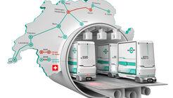 Die Schweiz hat den Weg für eine privat finanzierte Gütermetro frei gemacht. Der Bau soll 2026 beginnen.