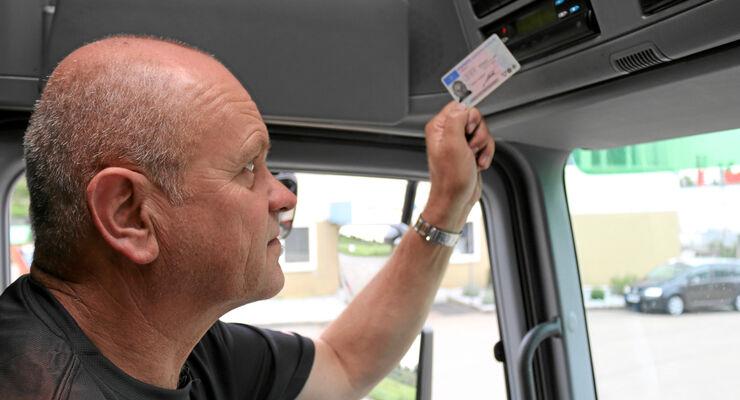Digitacho, Fahrerkarte