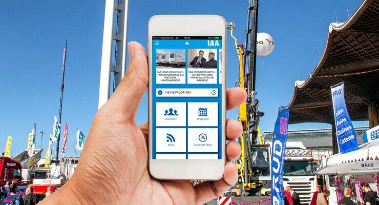 Digital, Smartphone, IAA, Eurotransport