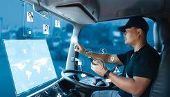 Digitalisierung beim Lkw-Fahrer