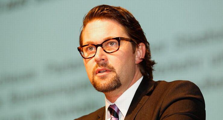 Dr. Andreas Scheuer, Parlamentarischer Staatsekretät, Verkehrsministerium, trans aktuell, Gipfel 2012, Logistikgipfel