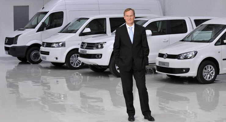 Dr. Eckhard Scholz, VW Nutzfahrzeuge, Sprecher des Markenvorstands Volkswagen Nutzfahrzeuge
