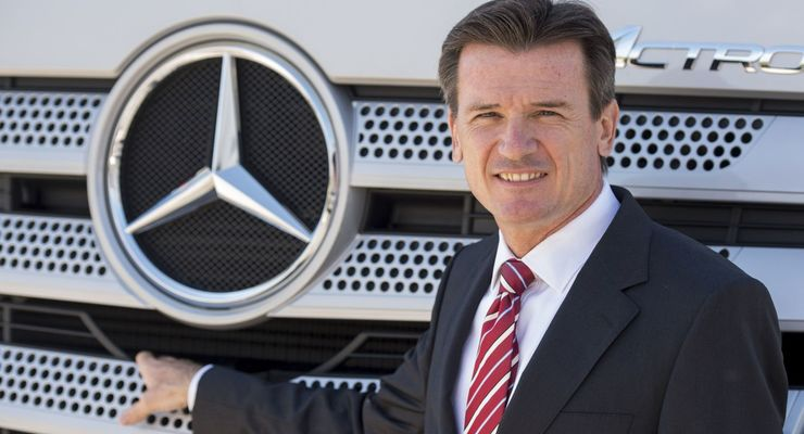 Dr. Wolfgang Bernhard, Nutzfahrzeug-Vorstand Daimler