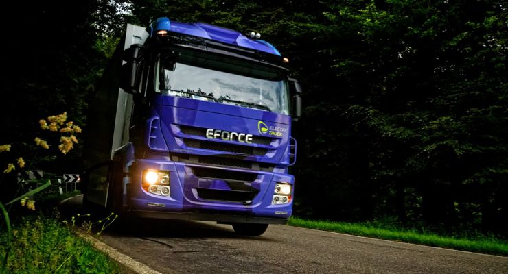 E-Force, Lkw, Elektro-Lkw