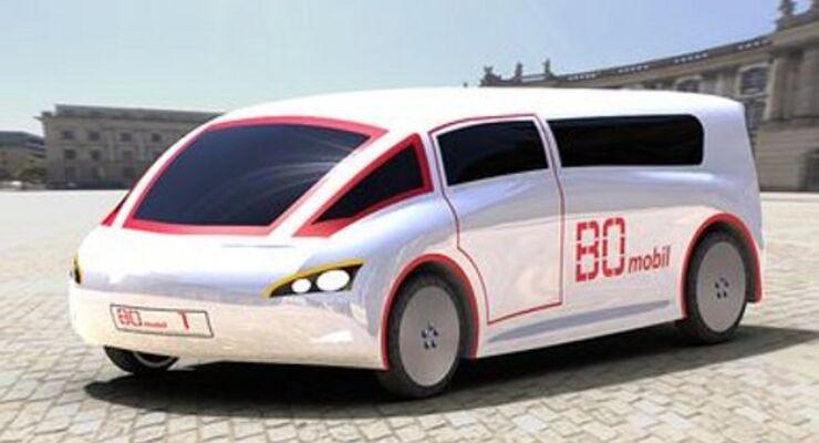 E-Transporter 2012 einsatzbereit