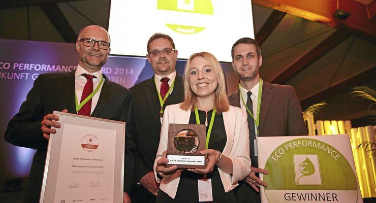 Eco Performance Award, Gewinner, DKV, Spedition Elflein