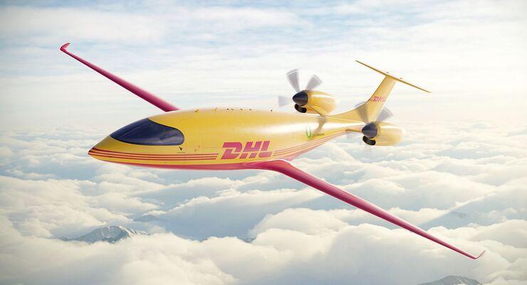 Elektro-Flugzeug Alice von Eviation bei Deutsche Post DHL Group