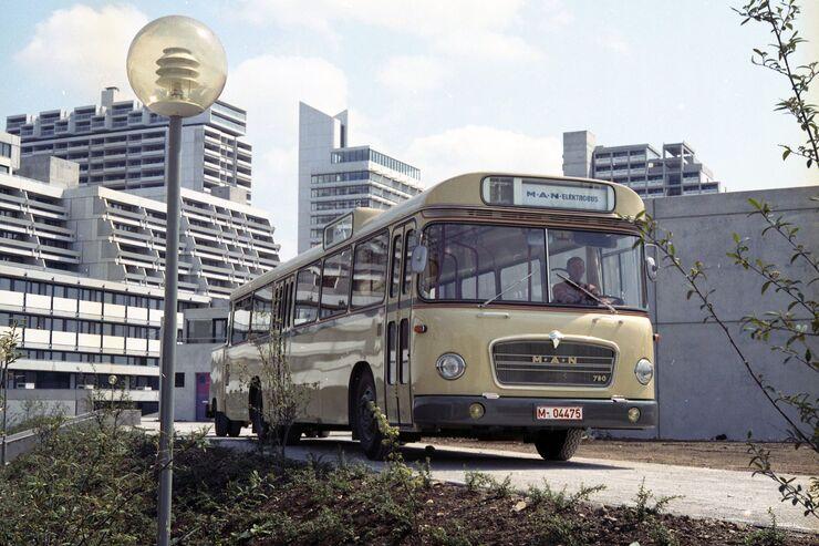 Elektrobusse von MAN