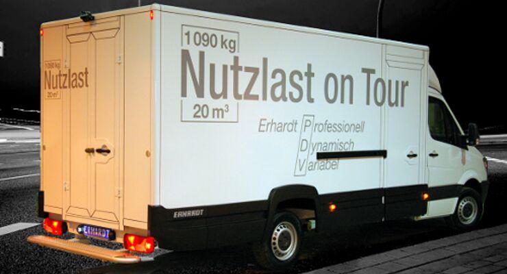 Erhardt bringt neuen Aufbau für 3,5-Tonner