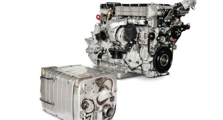 Euro 6 Motoren für Busse