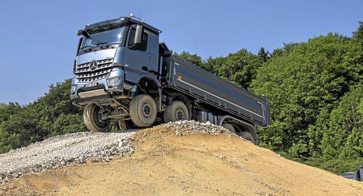 Fahrbericht-Mercedes Arocs 4151 AK Grounder