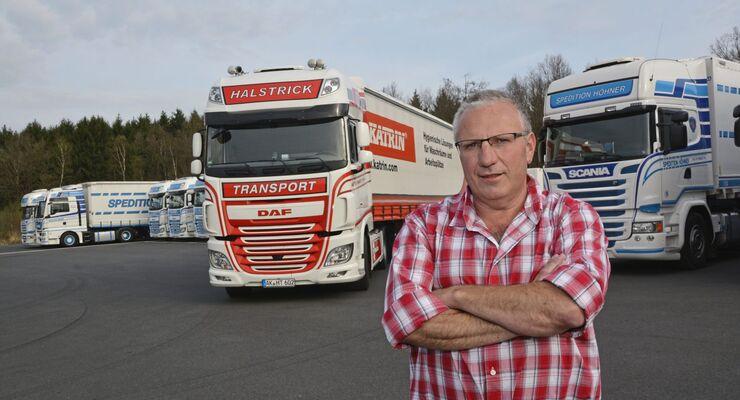 Fahrer Trucks DAF Höhner