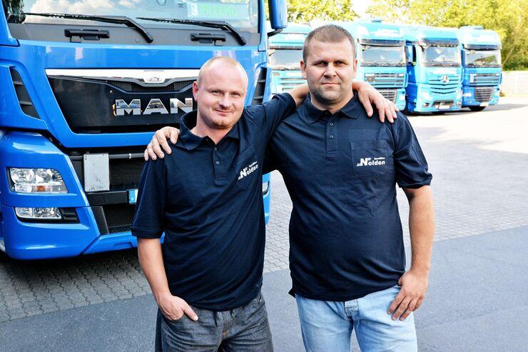 Fahrer aus Osteuropa