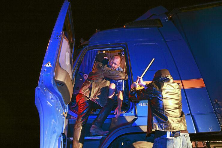 Fahrerforum, Gewalt auf Lkw-Parkplätzen
