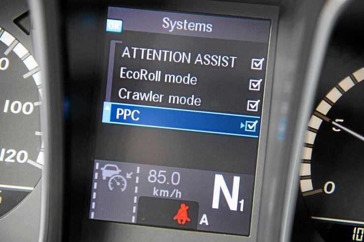 Fahrerforum, Vorausschauender Tempomat, Systems, PPC
