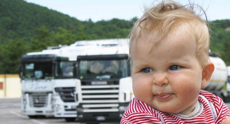 Fahrermangel, Zukunft, Baby