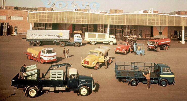 Fahrzeuge-Lkw-Programm mit Volvo
