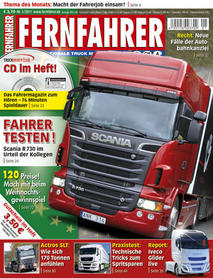 fernfahrer heft 01 2011 eurotransport. Black Bedroom Furniture Sets. Home Design Ideas