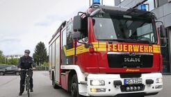 Feuerwehr Heidelberg hat den Abbiegeassistent von Wüllhorst nachgerüstet.