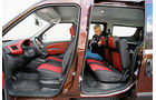 Fiat Doblò Cargo Kombi Maxi, Rückbank