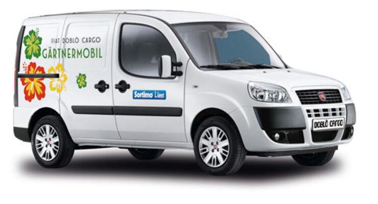 Fiat Doblò Cargo für Gärtner