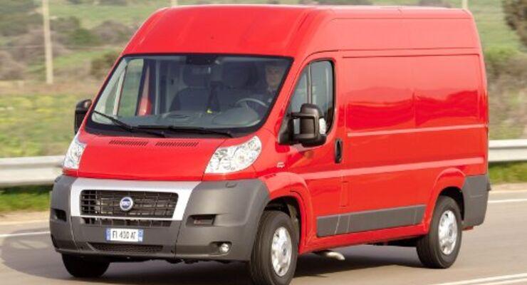 Fiat bringt Basis-Ducato für 13.990 Euro