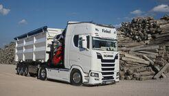 Finkel Recycling, Supertruck FF 9/2018, neuer Scania S.