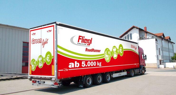 Fliegl, Greenlight, Gardinensattel, 2013