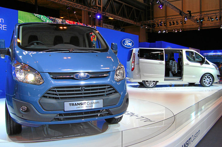 Ford Transit Custom, Präsentation