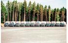 Frachtpreise im Wandel, 18 Fahrzeugen, Spedition Schröder