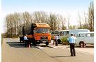 Frachtpreise im Wandel, Straßenkontrolle, MAN 15.192 F BDF, Spedition Westmünsterland