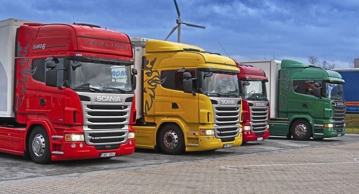 Gebraucht-Lkw, Techel, Scania