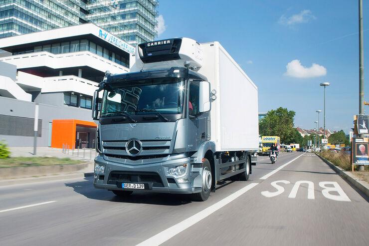 Geräusch-Richtlinie, Verkehrslärm, Mercedes, Carrier