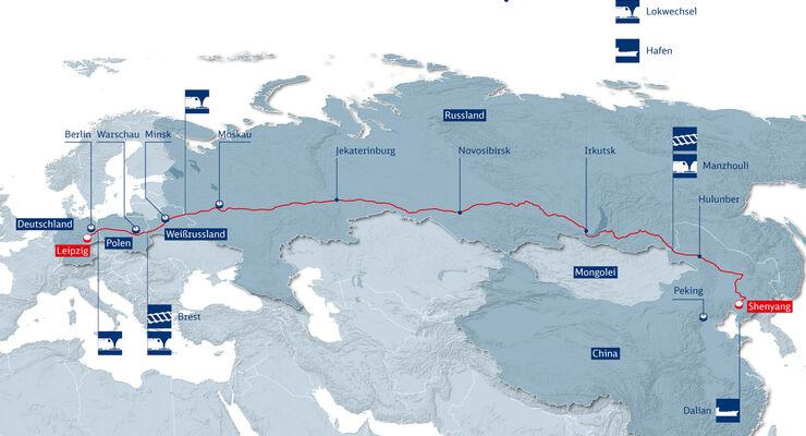 Grafik, 11 Tausend Kilometer in 23 Tage