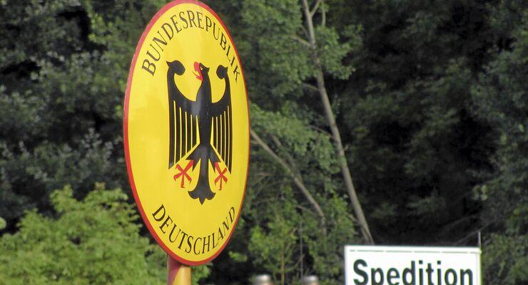 Grenzübergang Deutschland