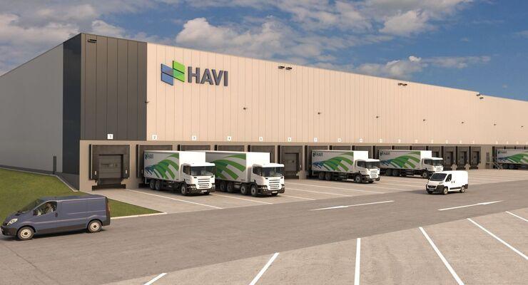 HAVI eröffnet nachhaltiges Logistikzentrum in Wunstorf
