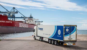 Hafen Transport