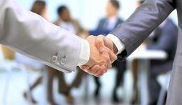 Handshake Händeschütteln Partnerschaft