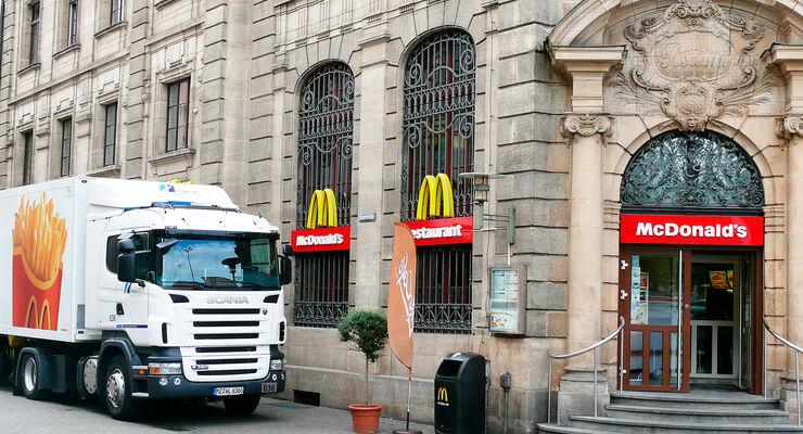 Havi Logistics und McDonald's arbeiten eng zusammen.