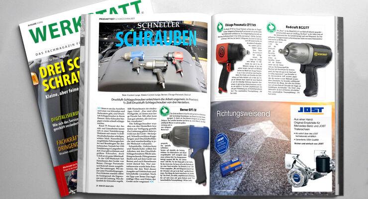 Hefttitel von WERKSTATT aktuell 3/2016